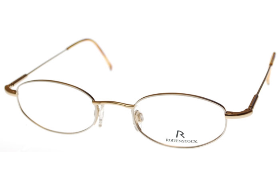 Rodenstock 4259 Eyeglasses in A.WHITE GOLD FRONT/YELLOW GOLD SIDES