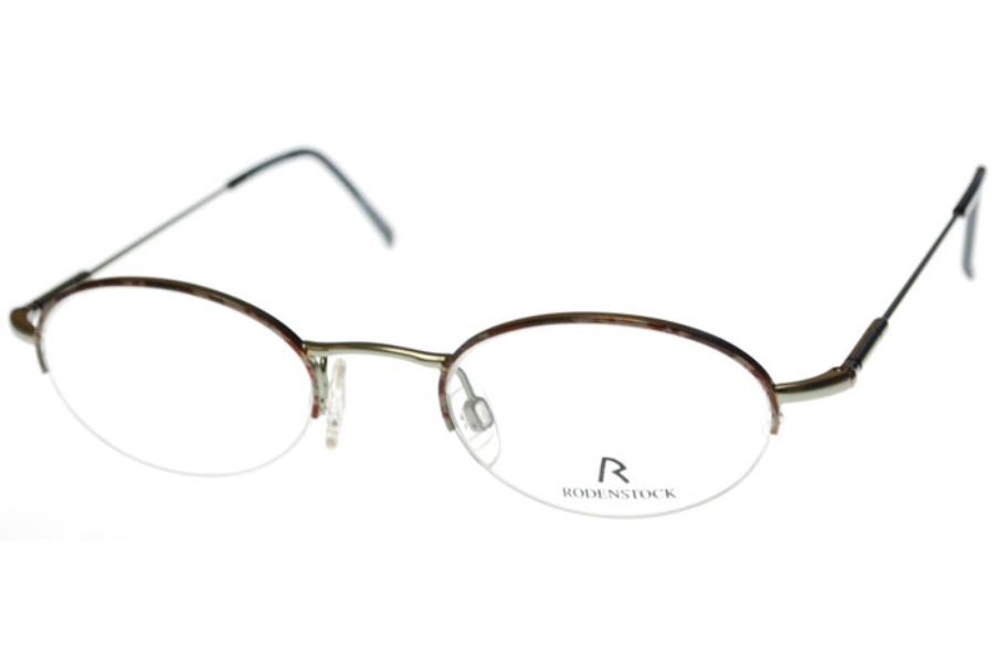 Rodenstock 4262 Eyeglasses in C. BLUE GREY / BROWN MOTTLE-SIZE 45 ONLY (Discontinued)