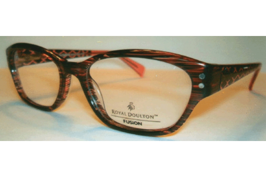 Royal Doulton RDF 120 Eyeglasses in Burgundy