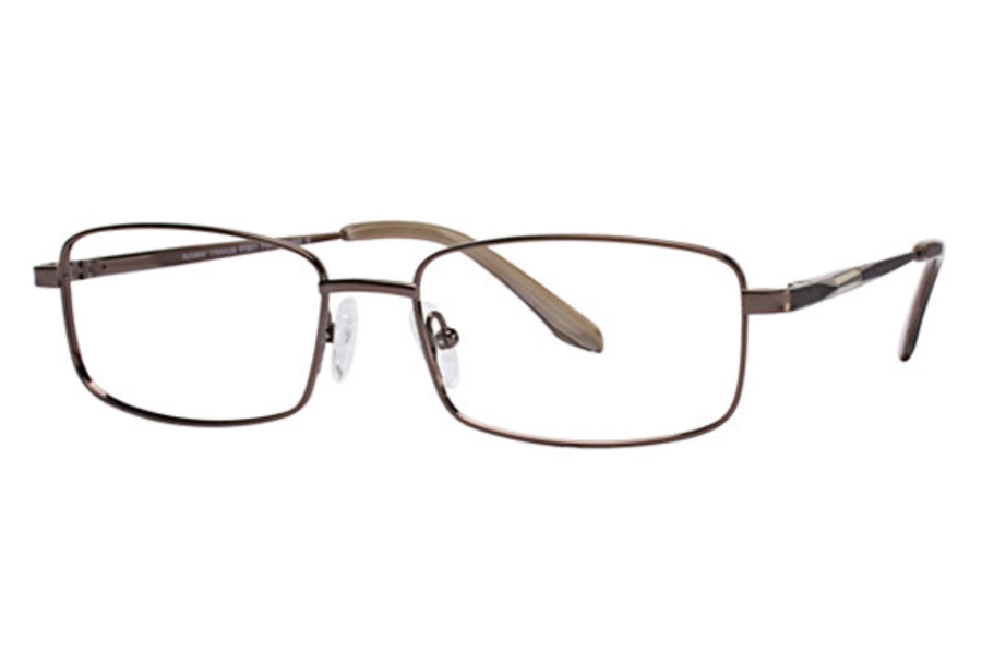 Runway Titanium RT 801 Eyeglasses in Brown