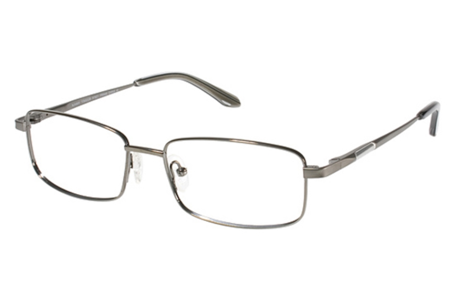 Runway Titanium RT 801 Eyeglasses in Gunmetal (Discontinued)