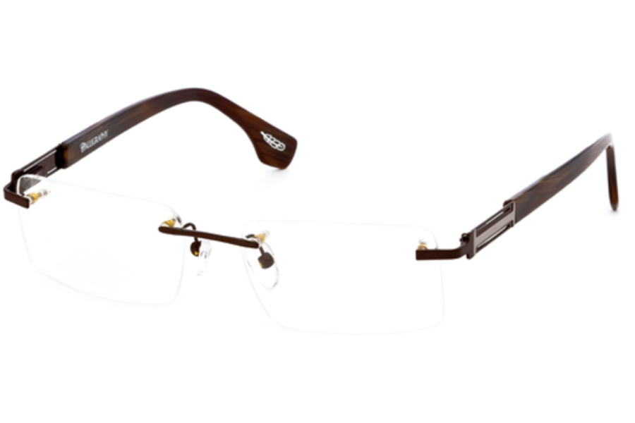 Calligraphy Eyewear F-362 Eyeglasses in Brown (53 Eyesize Only)