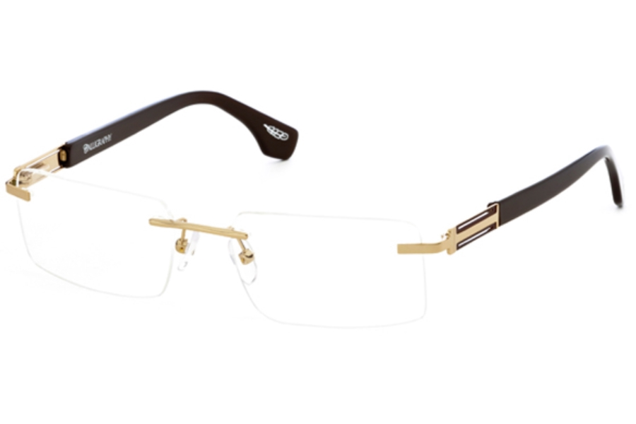 Calligraphy Eyewear F-362 Eyeglasses in Gold