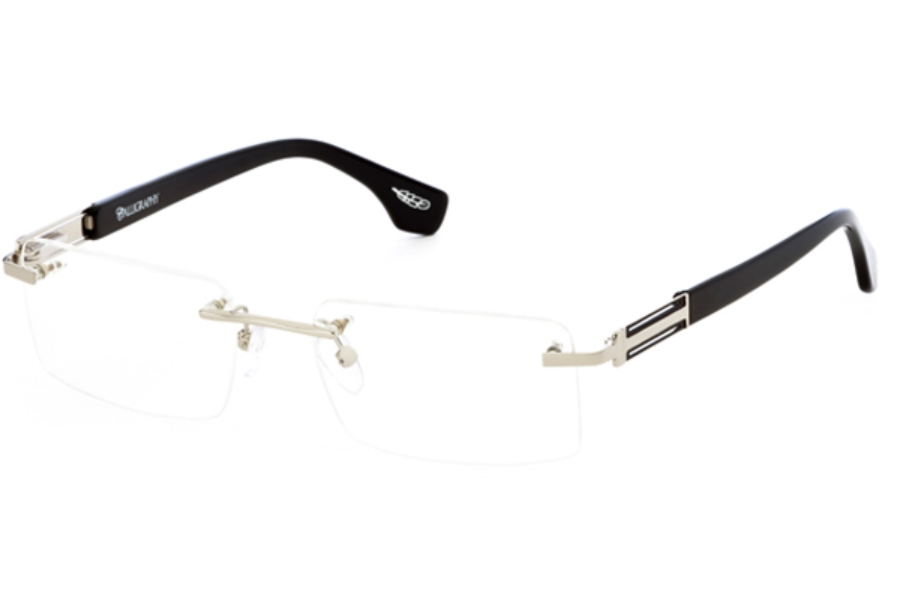 Calligraphy Eyewear F-362 Eyeglasses in Silevr (53 Eyesize Only)