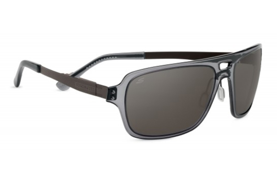 bd2369d4a721 ... Serengeti Nunzio Sunglasses in 7836 Crystal Dark Gray w/ Polarized PhD  CPG Lenses ...