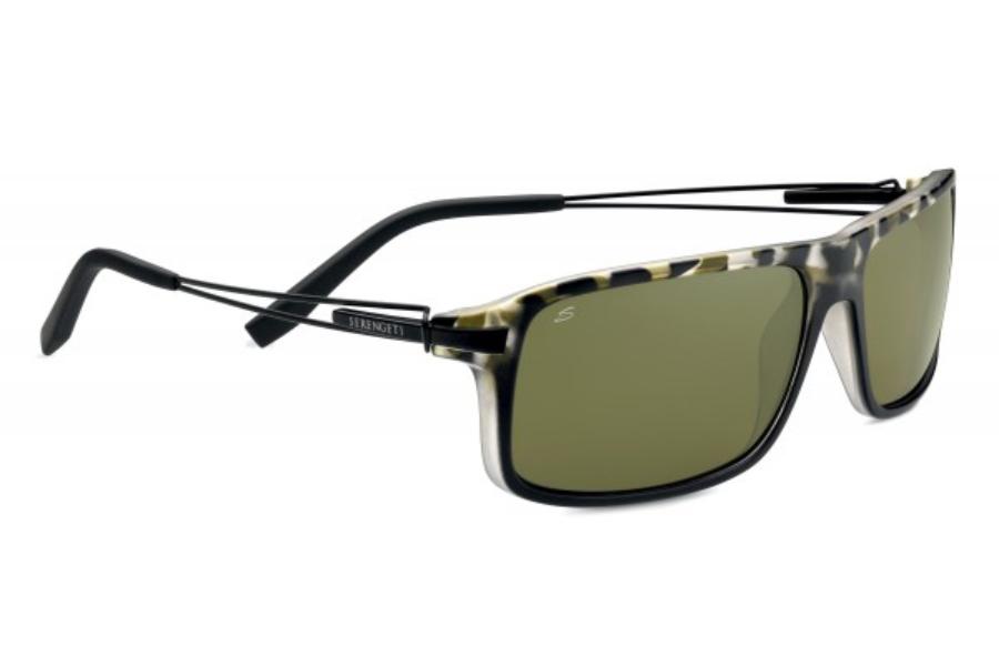 32e21d07d10f ... Serengeti Rivoli Sunglasses in 7766 Satin Black Tortoise w/ Polarized  555nm Lenses ...