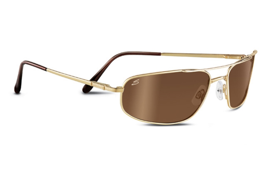90723cfc37b2 ... Gradient Lenses; Serengeti Velocity Sunglasses in 7723 Shiny Gold w/  Drivers Gold Polarized ...