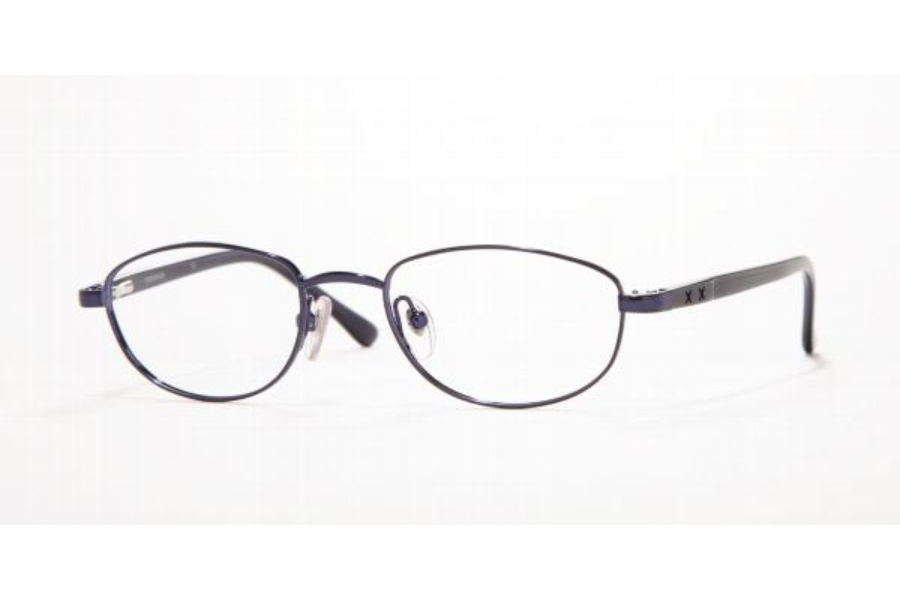 Sferoflex SF 2848 Eyeglasses in 259 Metallic Dark Blue
