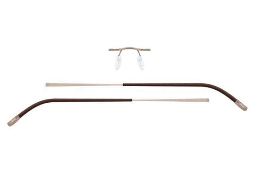 6daa397c9b2 ... Silhouette 6639 (7581 Chassis) Eyeglasses in 6051 Vanilla Brown  Sandstone ...