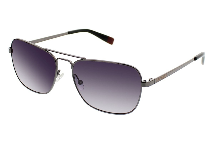 Steve Madden Capptain Sunglasses in Gunmetal