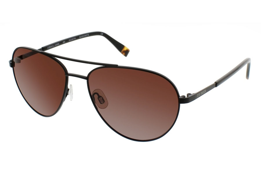 Steve Madden Eclectik Sunglasses in Black Matte
