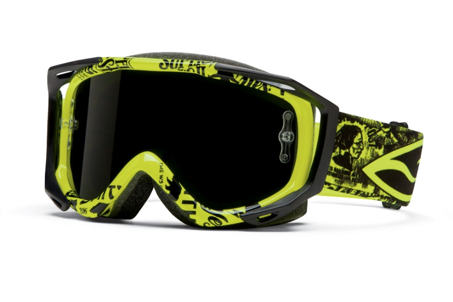 Smith Optics Fuel V.2 Sweat-X M Goggles in Acid W3 / Blackout Lens