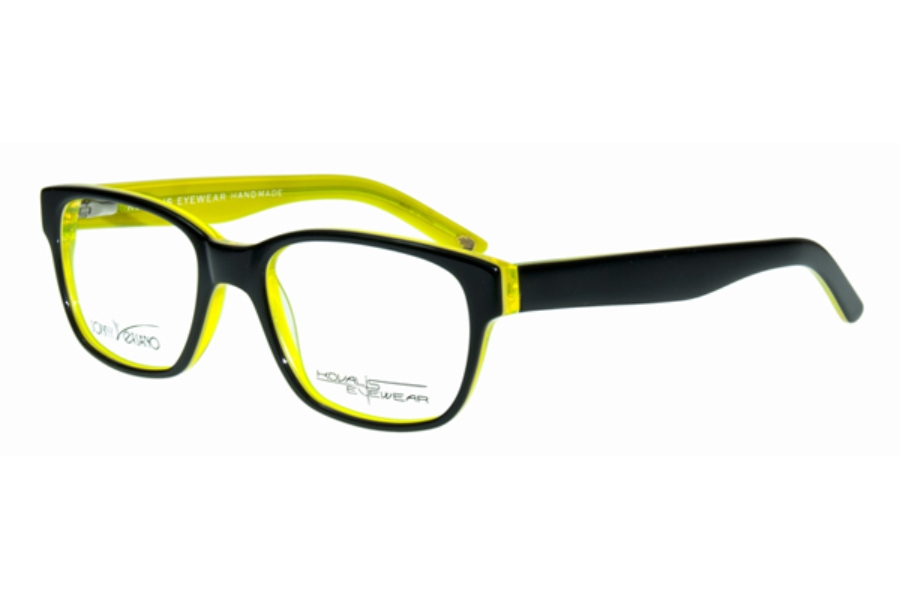 Sonny Versano 1708 Eyeglasses in Black Green
