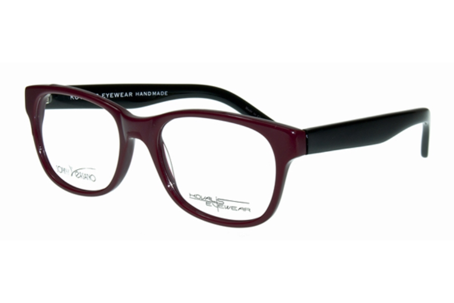 Sonny Versano 1709 Eyeglasses in Burgundy