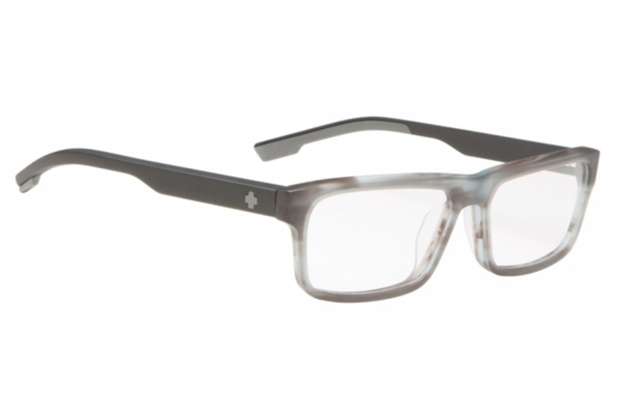fb2a50b9ca ... Spy Holt Eyeglasses in Matte Gray Smoke Matte Black ...