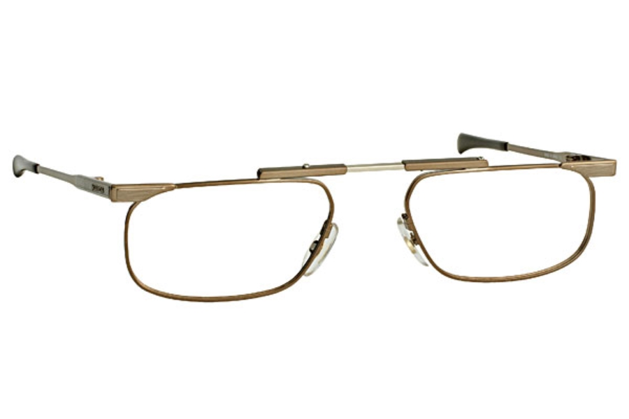 Slimfold Slimfold 5 (folding Eyewear) Eyeglasses in 02-Brown