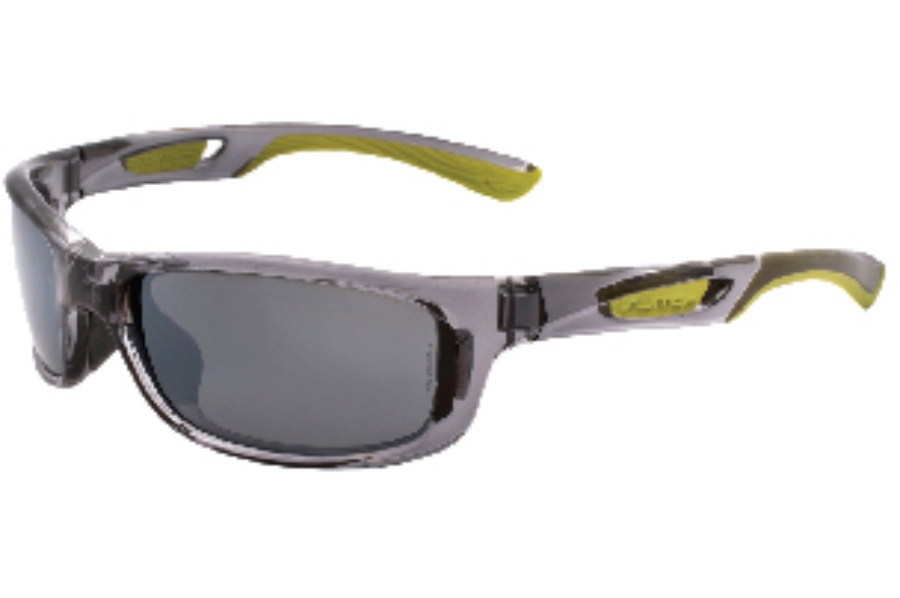 Switch Lynx Crystal Cool Grey / True Color Grey Reflection Silver Polarized Glare Kit Sunglasses in Switch Lynx Crystal Cool Grey / True Color Grey Reflection Silver Polarized Glare Kit Sunglasses