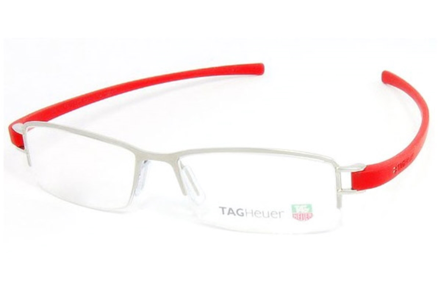 Tag Heuer 7201 Eyeglasses in 003 Pure Red