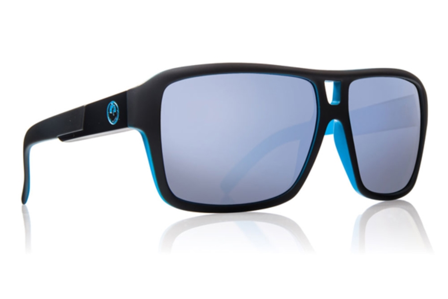 Dragon THE JAM Continued Sunglasses in MATTE BLACK / SKY BLUE ION