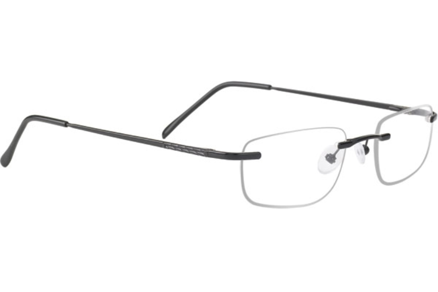 Mount Mount TI Eyeglasses in TM04 Black