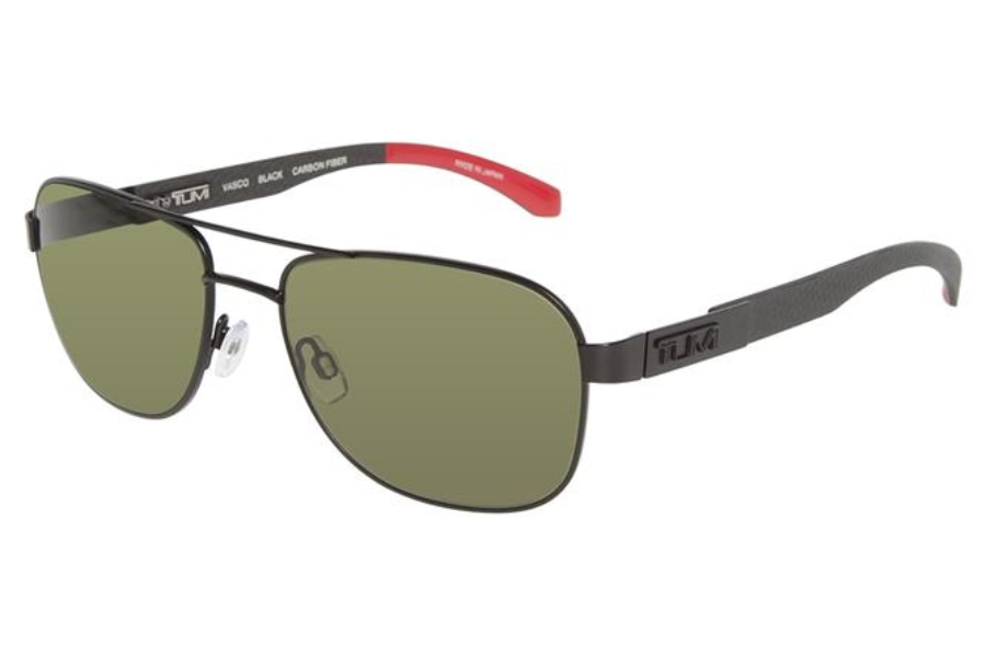 TUMI Vasco Sunglasses in Black