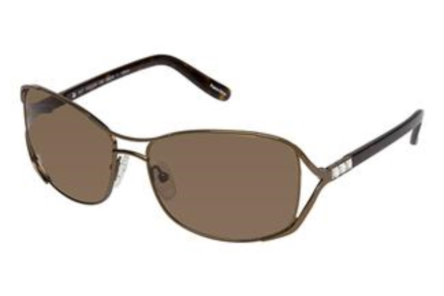 Tura 010 POLARIZED Sunglasses in SILVER w/GRAY POLARIZED Lenses