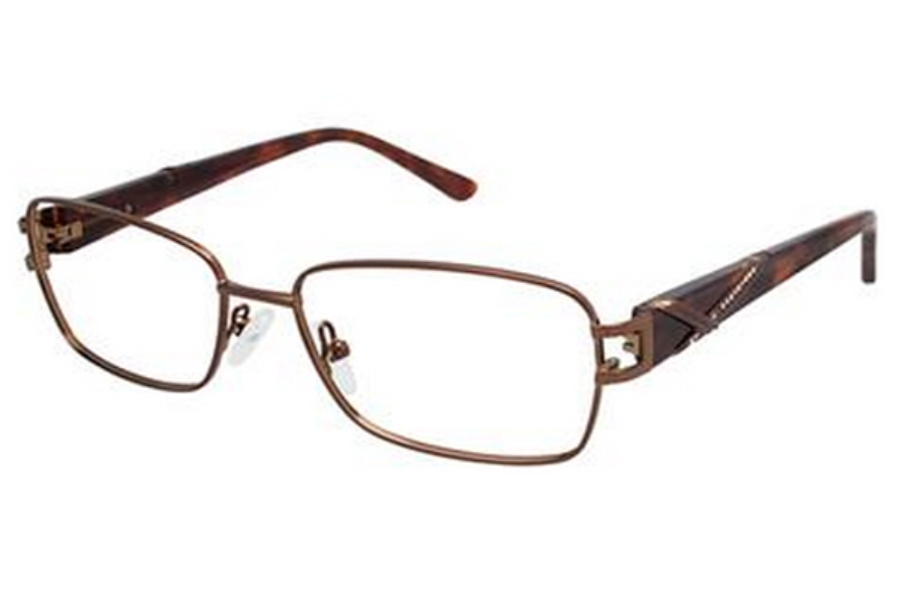 Tura R310 Eyeglasses in BRN Brown