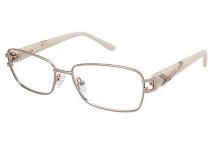 Tura R310 Eyeglasses in GLD Gold Almond