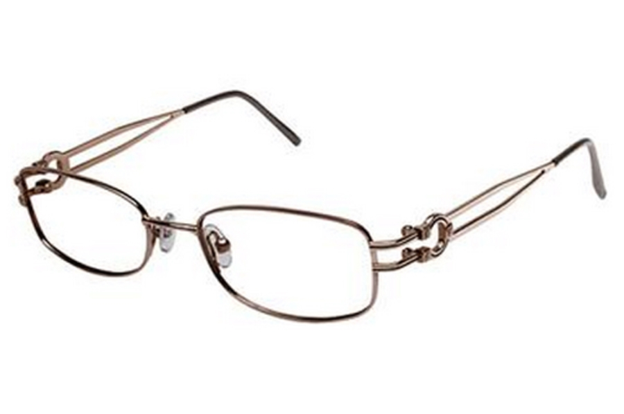 Tura R315 Eyeglasses in BRN Brown
