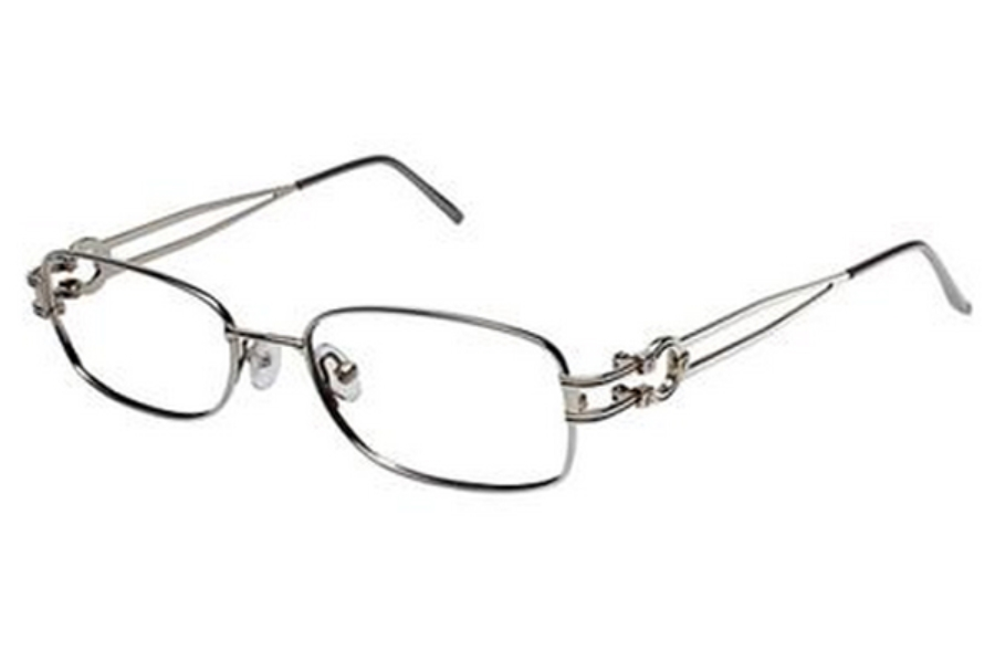 Tura R315 Eyeglasses in DKG Dark Gunmetal