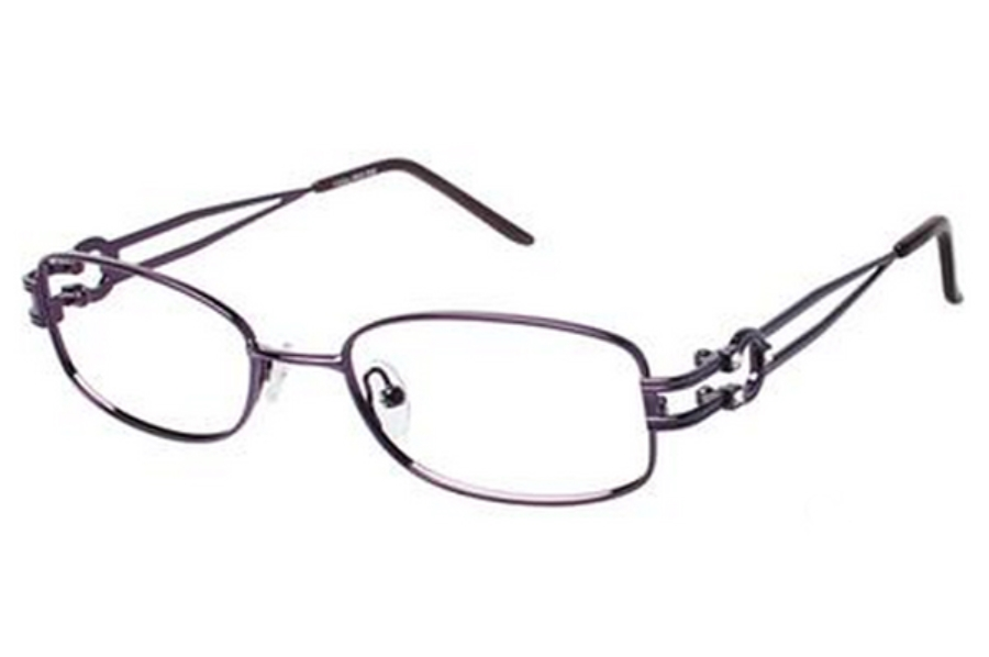 Tura R315 Eyeglasses in PUR Purple