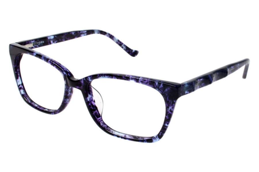 Tura R609 Eyeglasses in BLU Blue