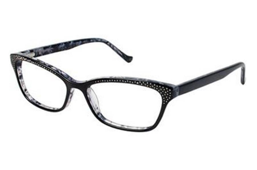 Tura R616 Eyeglasses in BLK Black