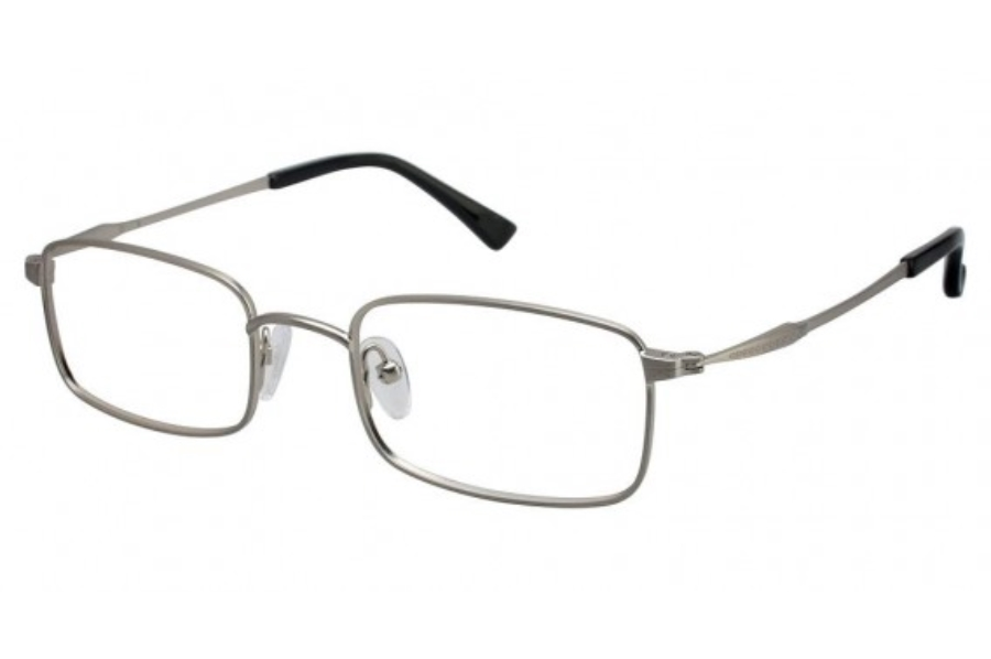 Tura T101 Eyeglasses in Antique Silver