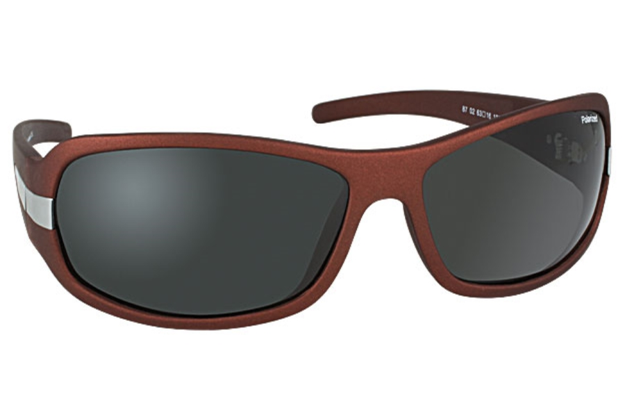 Tuscany Polarized Tuscany SG-87 Sunglasses in 02 Brown w/Polarized Grey Lenses