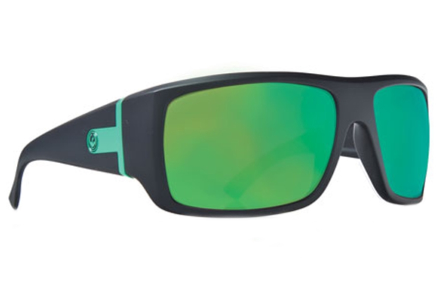 Dragon VANTAGE Sunglasses in Matte H2O / Green Ion P2 (Discontinued)