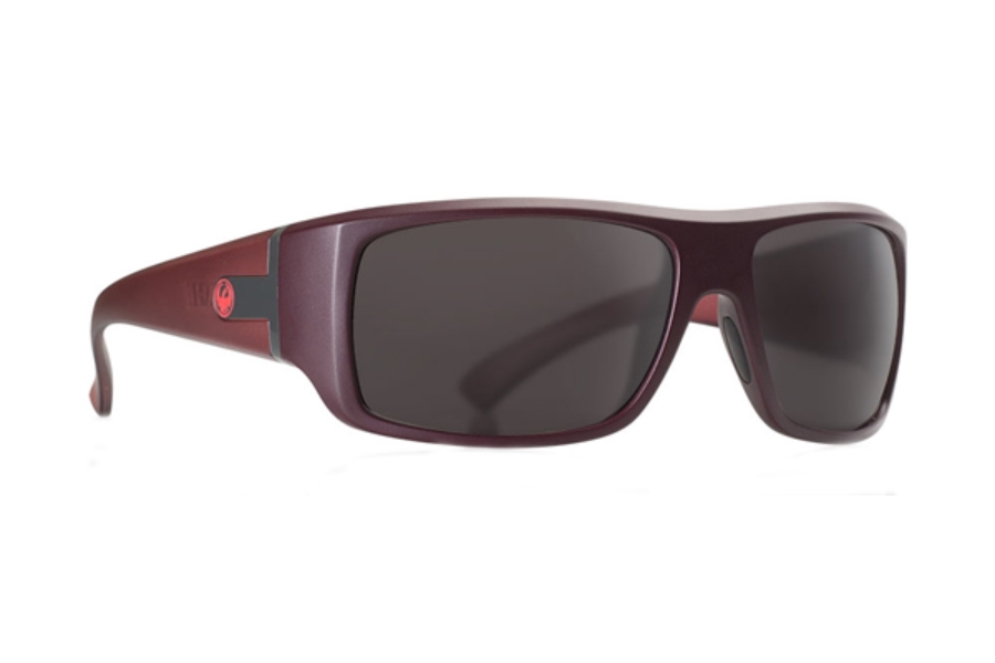 Dragon VANTAGE Sunglasses in Matte Redwood H2O / Smoke Performance Polar (Discontinued)