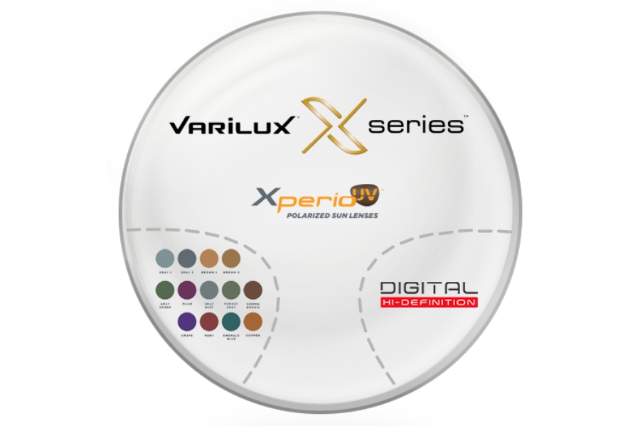 Varilux Varilux X Series™ Xperio™ Polarized [Gray or Brown] Polycarbonate Progressive Lenses in Varilux Varilux X Series™ Xperio™ Polarized [Gray or Brown] Polycarbonate Progressive Lenses
