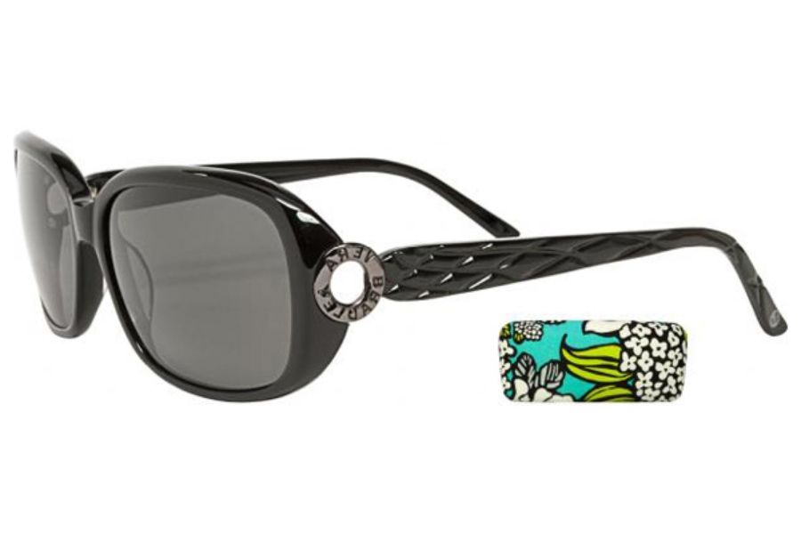 af8a571e9e Vera Bradley VB Miriam Sunglasses in Black Polarized ...