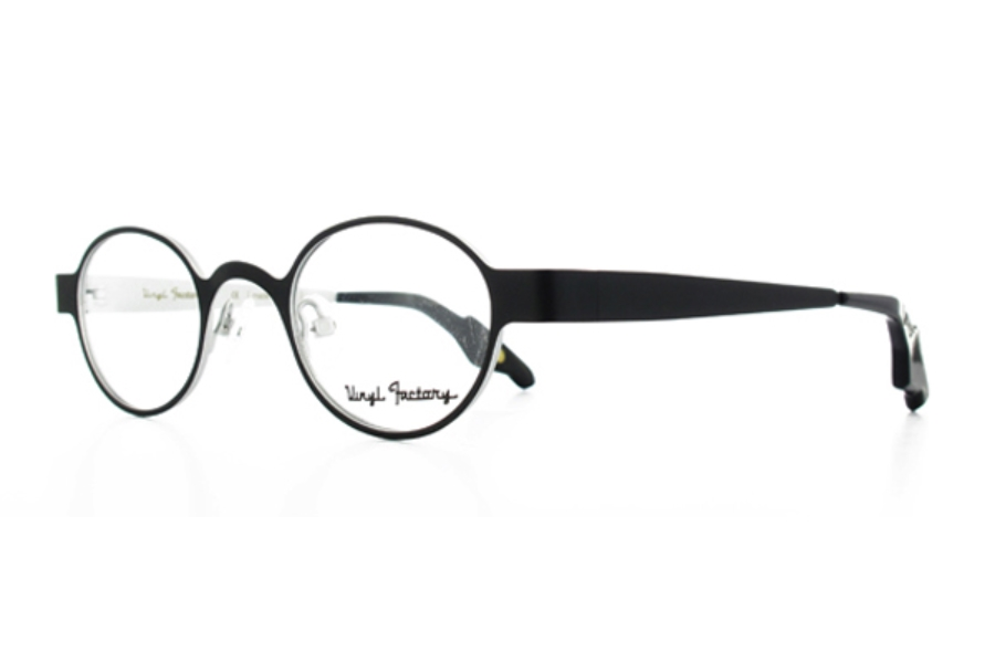 48edbffa0c ... Vinyl Factory Osbourne Eyeglasses in C2 Black Crystal ...