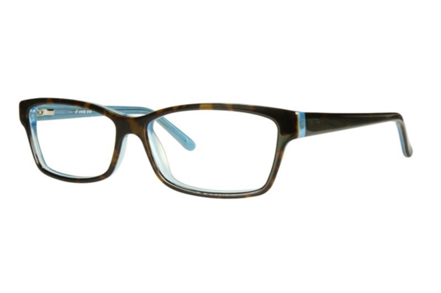 Vivid Fashion Acetate 819 Eyeglasses in Demi / Blue