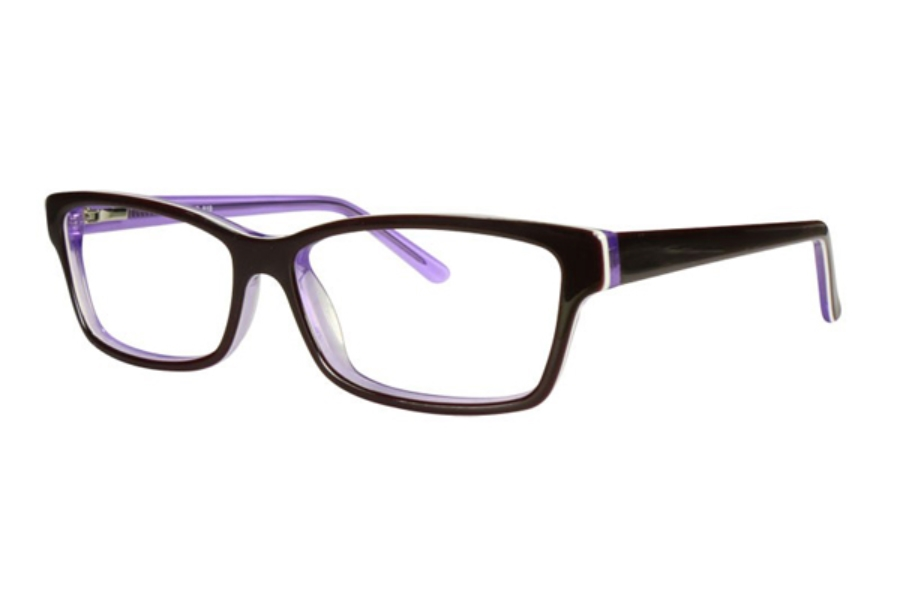 Vivid Fashion Acetate 819 Eyeglasses in Purple