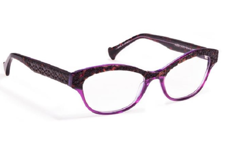 cb23af3667 Volte Face Paris Alizee Eyeglasses in 9072 Tortoiseshell Purple Parma ...