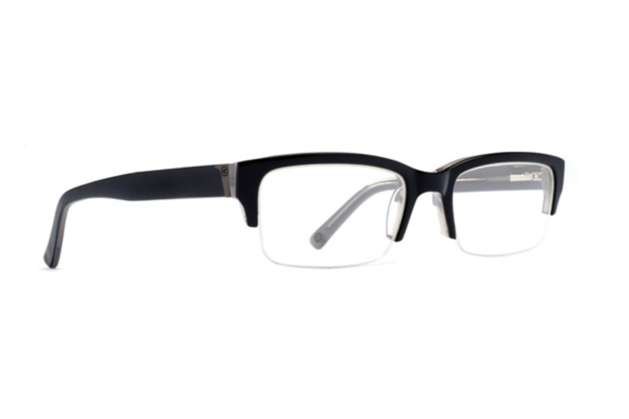 Von Zipper Elks Lodge Eyeglasses in BSM Black Smoke Gloss