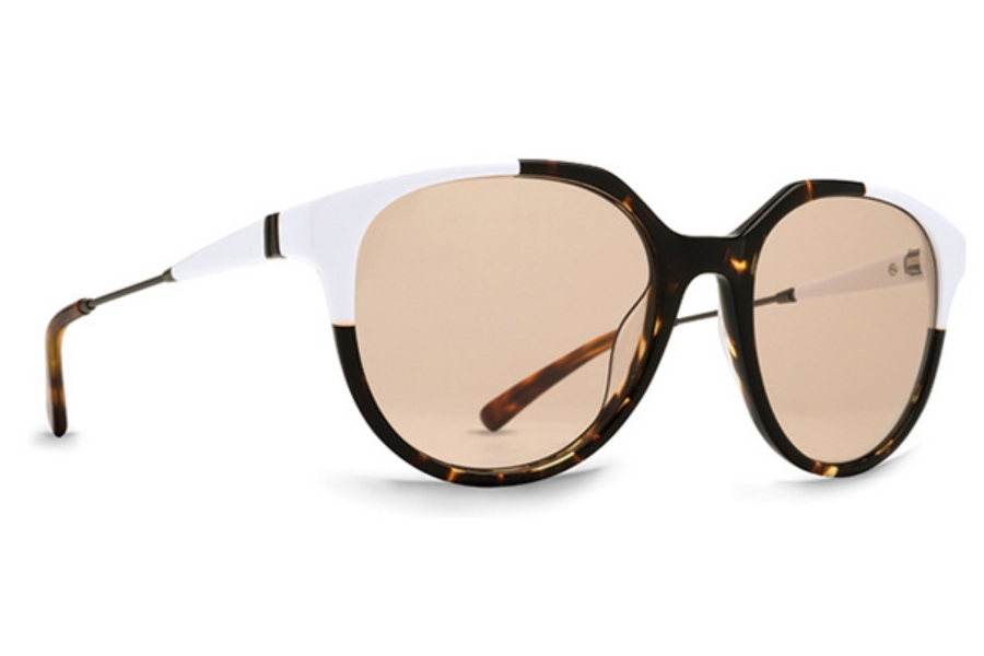 Von Zipper Hyde Sunglasses in WTS White Tortoise SIL / CLR SIL