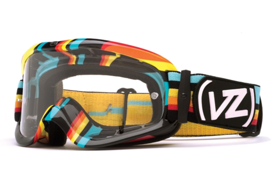 Von Zipper Sizzle Mx Goggles in BBE Xcite Bike / Clear
