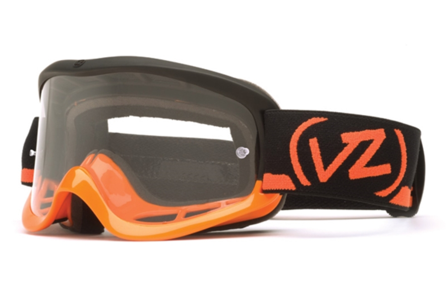 Von Zipper Sizzle Mx Goggles in BBT Orange Black / Clear