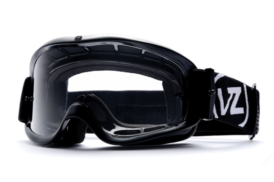 Von Zipper Sizzle Mx Goggles in BCC Black Gloss / Clear