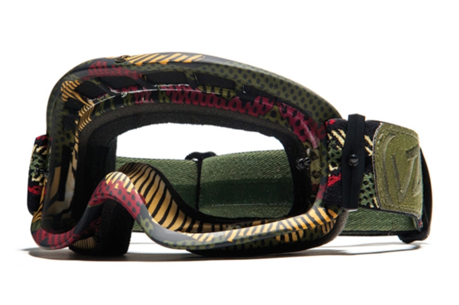 Von Zipper Sizzle Mx Goggles in CAM Camo Satin / Clear