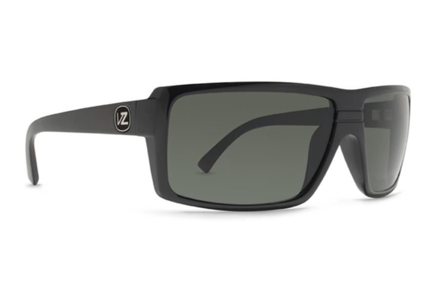 bb8aa15e9e6 ... VP3 Tri-motion Black Gloss   Grey Poly Polarized  Von Zipper Snark  Sunglasses in Von Zipper Snark Sunglasses ...